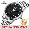 Мужские механические часы STARKING Miyota Movt, наручные часы из нержавеющей стали, автоматические мужские часы с сапфировым стеклом и автоподзаводом, часы 3ATM AM0171 - фото