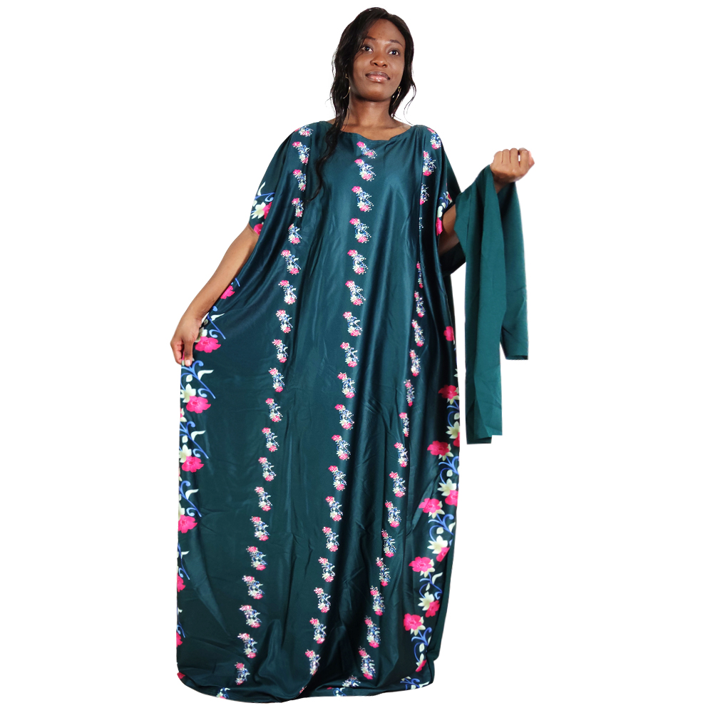Женское винтажное платье макси однотонное элегантное в африканском