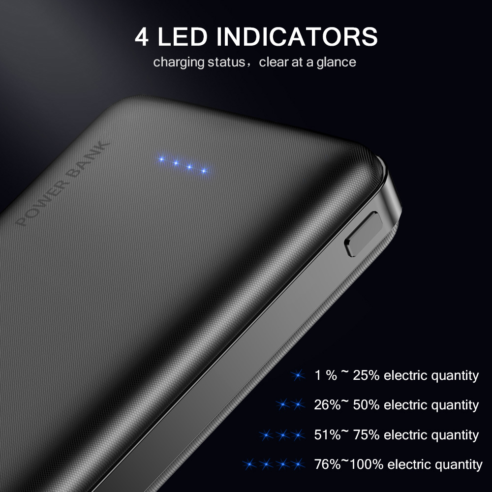 FLOVEME-Power-Bank-10000mAh-Portable-Charger-For-Samsung-Xiaomi-mi-Mobile-External-Battery-Powerbank-10000-mAh