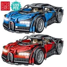 Ünlü spor araba yapı bloğu süper hızlı yarış araç simülasyon modeli tuğla oyuncaklar doğum günü hediyesi erkek arkadaşı için