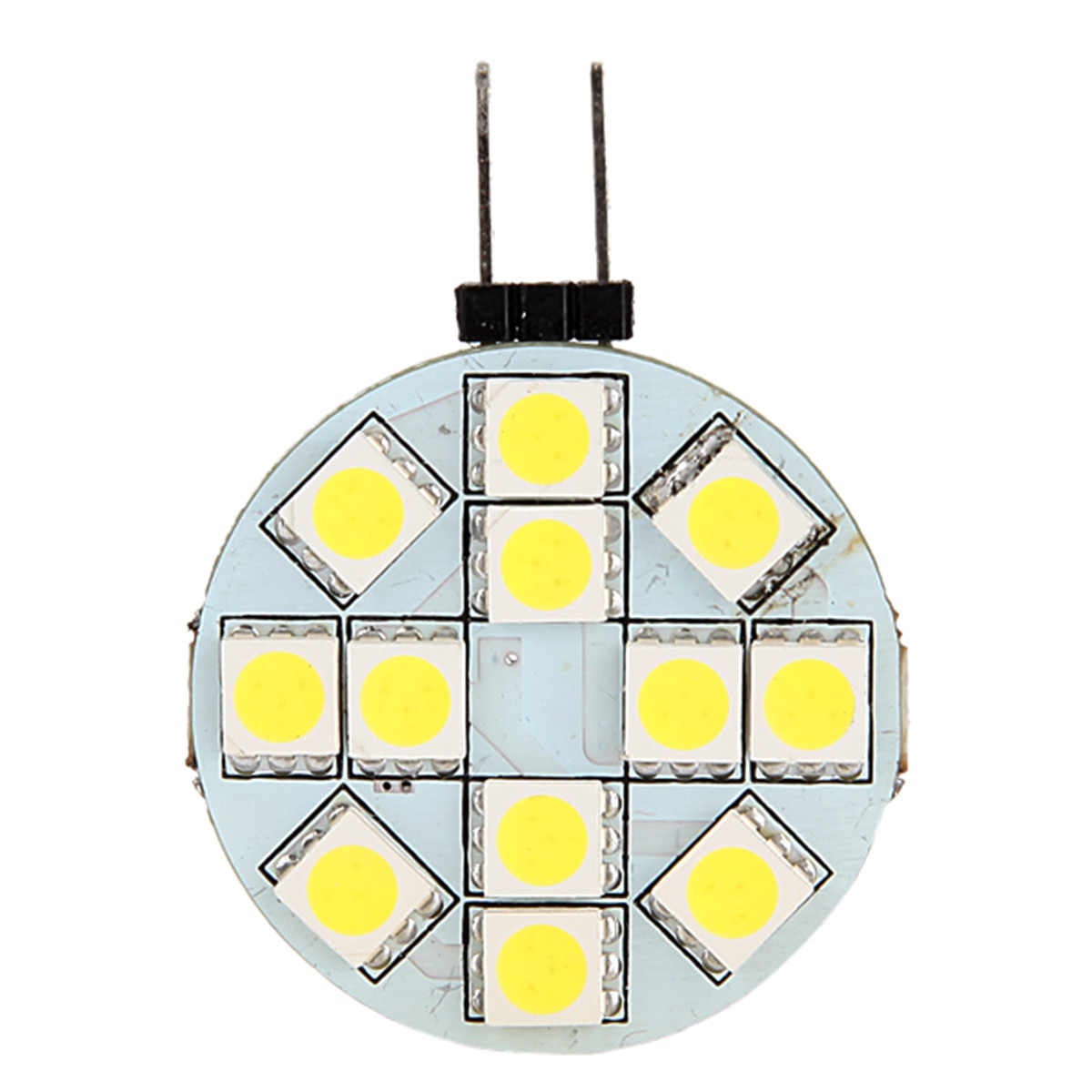 G4 12 SMD LED Bulb Lamp Pure White Light  5050 LED Bulb Lamp 12V Pure White Light