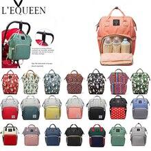 Travel Backpack Baby-Bag Nursing-Bag Maternity-Nappy-Bag Lequeen Large-Capacity Designer