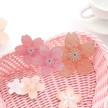 5pcs/lot Creative Small Fresh Cherry Blossoms Series Decoration Diy Ablum Diary Label bullet journal stickers office stationery