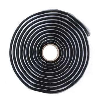 1/2pcs 4 Meters Car Black Butyl Rubber Glue Headlight Sealant Retrofit Reseal Hid Headlamps Taillight Shield Glue Tapes фото