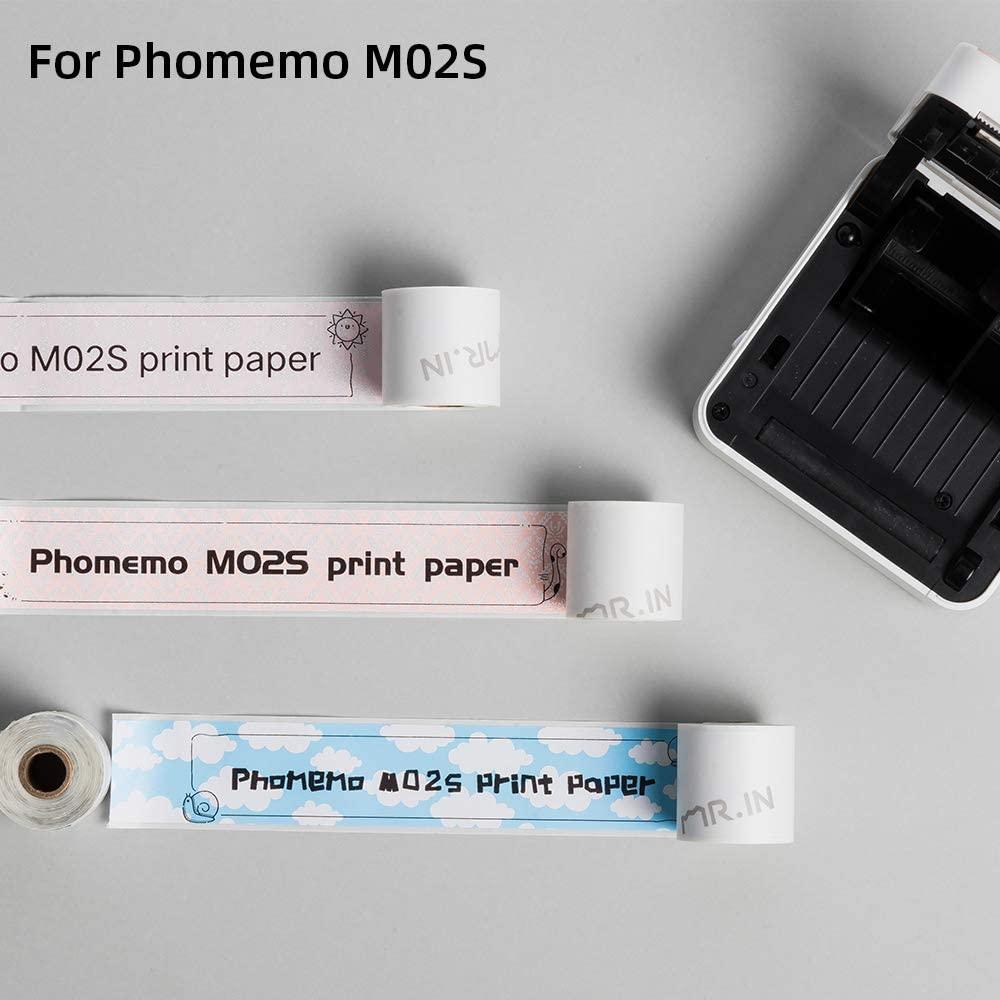 x 3.5m para phomemo m02s impressora de