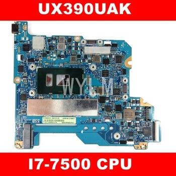 UX390UAK i7-7500 CPU mainboard REV1.2 For ASUS UX390U UX390UA UX390UAK zenbook motherboard 90NB0CZ0-R05100 free shipping