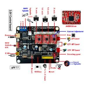 Image 3 - Ab/RU/abd CNC 3018 Pro 0.5W 2.5W 5.5W 15W lazer oyma makinesi ahşap çalışma için GRBL çevrimdışı kontrol