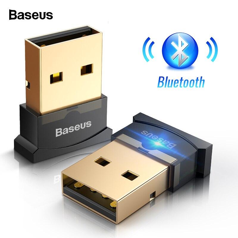 Baseus USB Bluetooth Audio Transmitter Receiver 4.0 Wireless Adapter For Computer PC Mouse Audio Bluetooth Receptor Adaptador