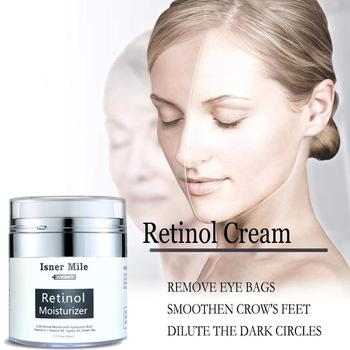Pure Retinol Vitamin A 2.5% Anti Aging Wrinkle Acne Face Whitening Serum Cream Hyaluronic Acid Skin Care Products 50ml фото