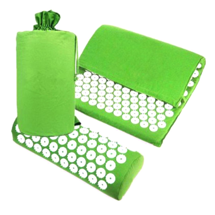 SEC88 Acupressure Massage Mat with Pillow set for Stress Pain and Tension Relief 20