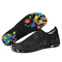 Tamanho 35-46 tênis unissex sapatos de natação de secagem rápida aqua sapatos e crianças sapatos de água zapatos de mujer praia sapatos de água