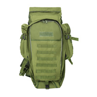 60L Outdoor Backpack Pack Rucksack Tactical Bag for Hunting Shooting Camping Trekking Hiking Traveling(green)|Fishing Bags| |  -