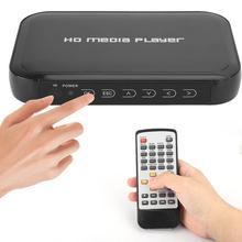 1080P мультимедийный плеер Full HD медиаплеер AV VGA HDMI интерфейсы для выставочных залов, отелей, рекламных компаний и т. Д