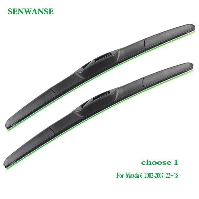 Senwanse-balais dessuie-glace   Paire, pour Mazda 6 berline/Wagon/hayon 2002-2016 voiture, vitre avant, accessoires automobiles