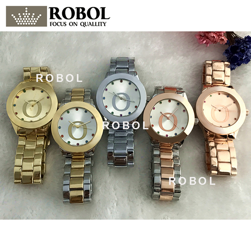 RLLEN Stainless Steel Men Women Couples Quartz Watches Fashion Luxury Original Copy Jewelry Gift Retro Precision Charm Noble