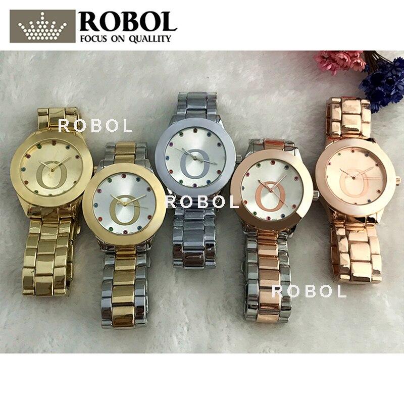 RLLEN Stainless Steel Men Women Couples Quartz Watches Fashion Luxury Original Copy Jewelry Gift Retro Precision Charm Noble