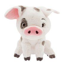 22cm filme moana animal de estimação porco pua brinquedo de pelúcia animais adorável bonito macio dos desenhos animados bonecas brinquedo crianças aniversário presente natal