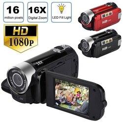 Camera DV Digital Video Camera HD 1080p 32GB Video Micro Camera 16X Digital Zoom Camcorder Kamera Handheld Home Vlog Photography