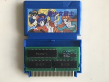 8bit game card : AV Bishoujo Senshi Girl Fighting ( Japan Version!! box+cartridge ONLY!! )