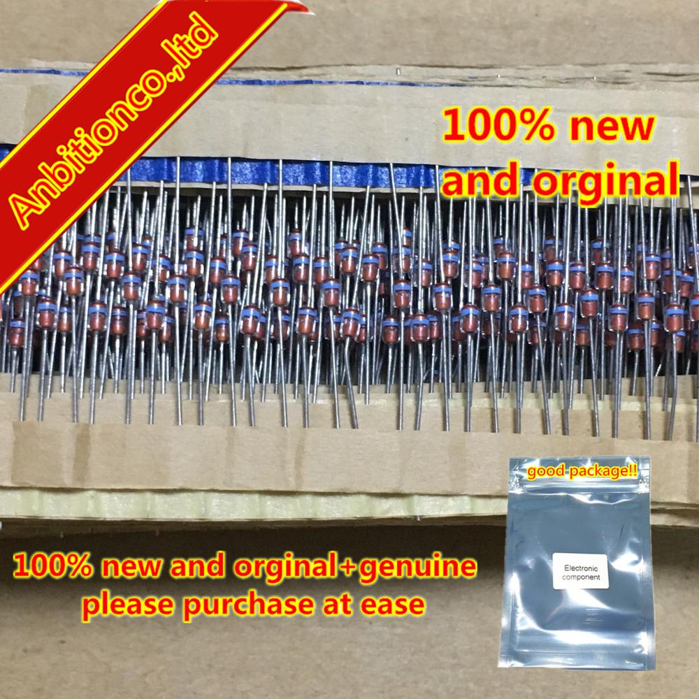 10pcs  100% New And Orginal 1SS132 DO-34  HIGH SPEED SWITCHING DIODE In Stock