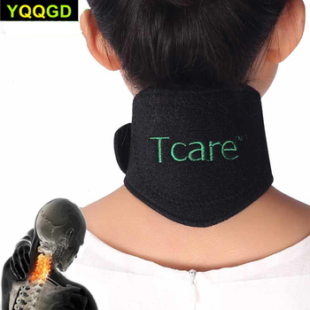 1 Pcs Tourmaline Self-heating Neck Brace Pad Magnetic Therapy Tourmaline Belt Support Spontaneous Heating Neck braces