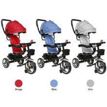 4 In 1 Infant Baby Tricycle Folding Rotating Seat Baby Stroller 3 Wheel Bicycle Kids Bikes Three Wheel Stroller Baby Trolley HWC