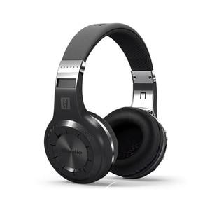 Image 4 - Cuffie Bluedio H originali Bluetooth 4.1 Stereo Bass HIFI cuffie Wireless auricolari per chiamate musica con microfono FM