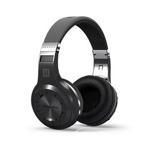 Image 4 - Original Bluedio H+ Headset Bluetooth 4.1 Stereo Bass HIFI Wireless Headphones Earphones For Calls Music with Microphone FM