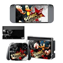 Skin-Stickers Switch Hedgehog Nintendos Console-Controller Vinly-Decals Game Sonic Anime