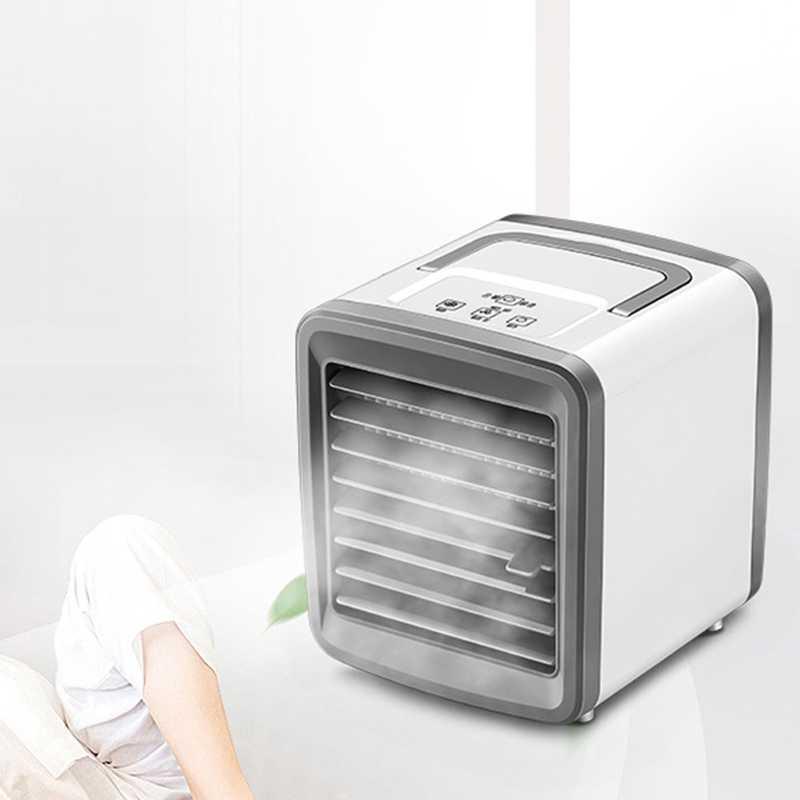 مصغرة المحمولة Usb مكيف الهواء المرطب تنقية ضوء سطح المكتب تبريد الهواء مروحة تبريد الهواء مروحة للمنزل مكتب