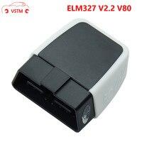 ELM327 V2.2/V1.5 Bluetooth 4,0 с PIC18F25K80 obd obd2 CAN BUS для IOS/Android/PC Torque Auto Code Reader ELM 327 V2.1