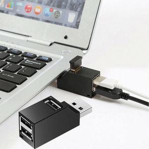 Boîtier de séparation de cartes à grande vitesse, Hub USB 2.0 3 ports, pour PC portable, lecteur de cartes de disque U, Hub pour iPhone 7, 8, X