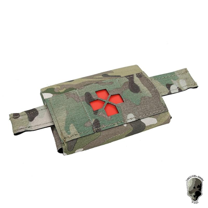 Tmc micro kit med bolsa médica tático molle bolsa militar kits de primeiros socorros saco 3443