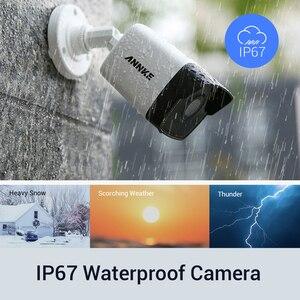 Image 5 - ANNKE 5MP H.265 + Super HD PoE wideo sieciowe System bezpieczeństwa 4 sztuk wodoodporna zewnętrzna POE kamery IP Plug & Play kamera PoE zestaw