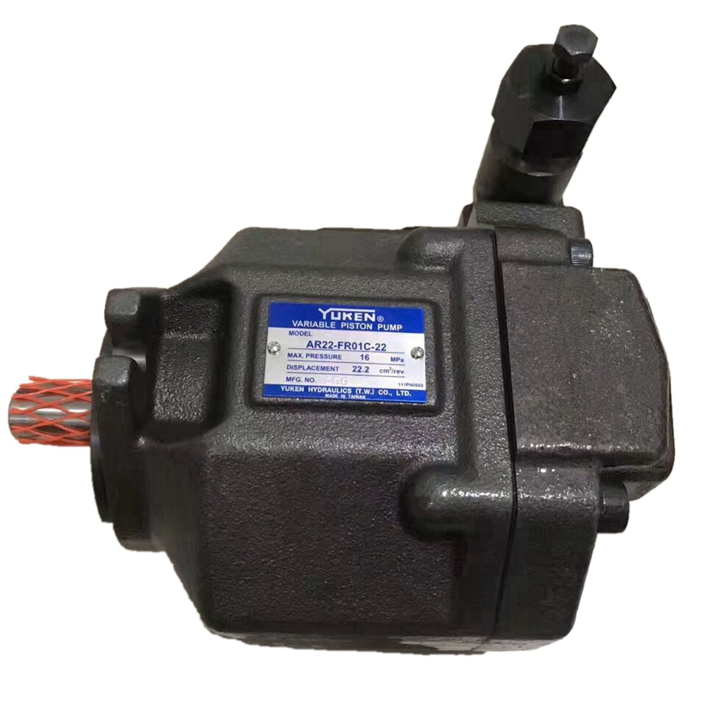AR Pumps Yuken Variable Displacement Piston Pumps AR22 Hydraulic Oil Pumps Hight Pressure:16Mpa