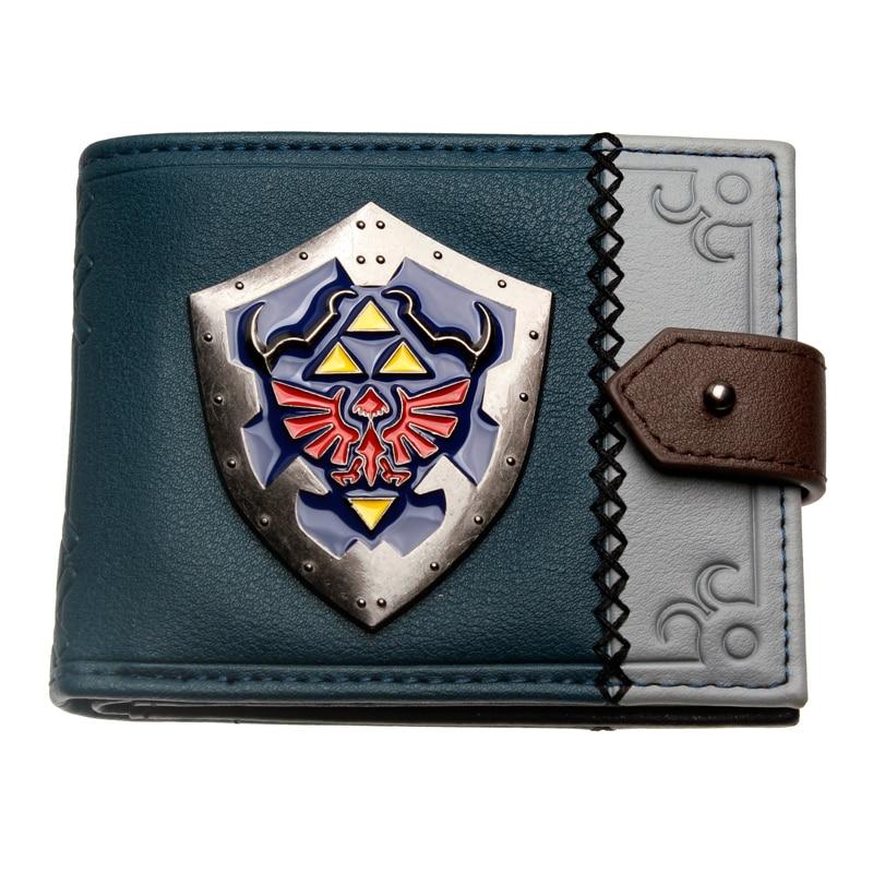 The Legend Of Zelda Women Wallets Fashionable High Quality Men's Wallet Designer New Purse Dft3106