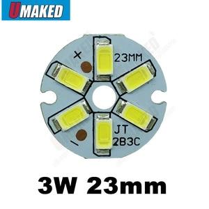 Светодиодный PCB 3 Вт с чипами smd5730, алюминиевый светильник, потолочный светильник, светодиодный светильник