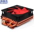 Pccooler K101F 4*6mm heatpipe Chapado en cobre disipador de calor tarjeta gráfica enfriador 100mm ventilador silencioso VGA refrigeración GPU radiador de 3 pines
