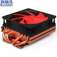 Pccooler K101F 4*6mm heatpipe copper plating heatsink Graphics card cooler 100mm quiet fan VGA cooling GPU radiator 3pin & Molex