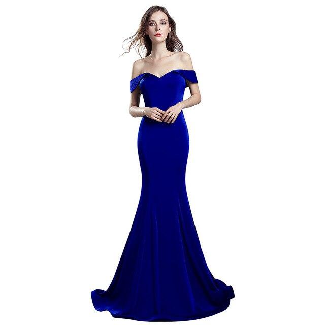 Vestiti Eleganti Donna Lunghi.Stain Lunghi Abiti Da Sirena Elegante Nuovo Vestito Sexy Delle
