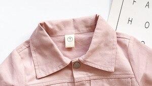 Image 4 - Ensemble de vêtements pour petites filles, veste solide à manches longues, avec jupe crayon, tendance douce, tenue dautomne pour enfants