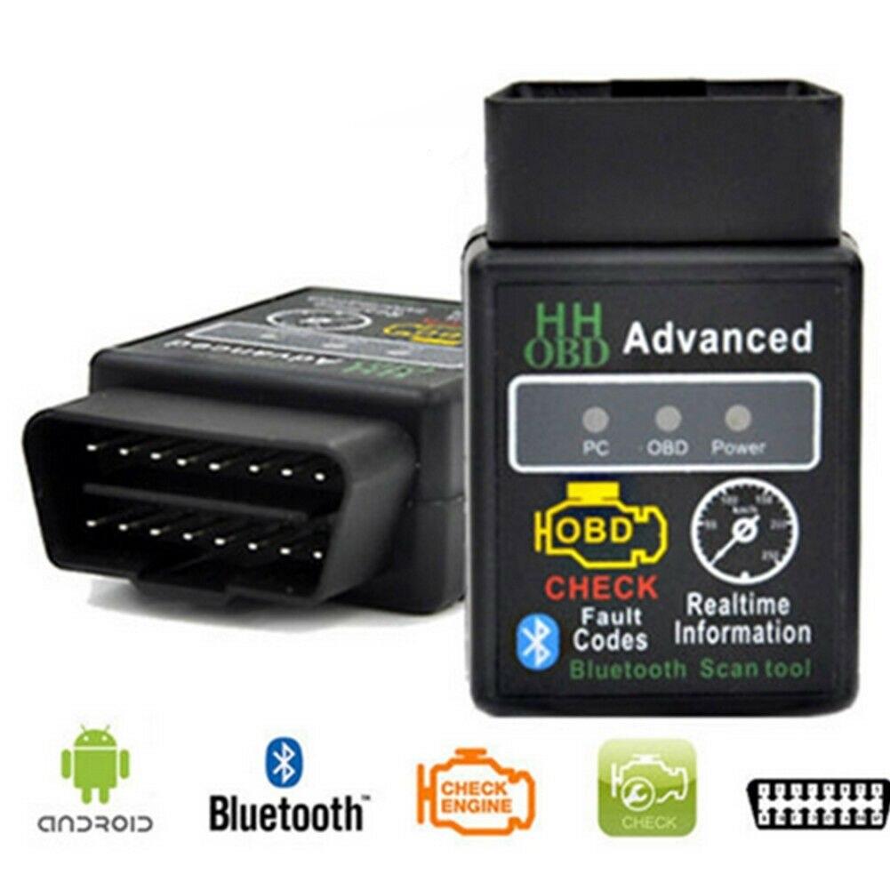 ELM327 автомобильный HH ODB ODB2 усовершенствованный Bluetooth Автомобильный диагностический сканер ELM327 OBD2 ELM327 сканер ELM327 Bluetooth