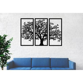 Metal Wall Art, Large Tree of Life Panels 3 Pieces, Decor, Interior Decoration, New Home Gift, Sign
