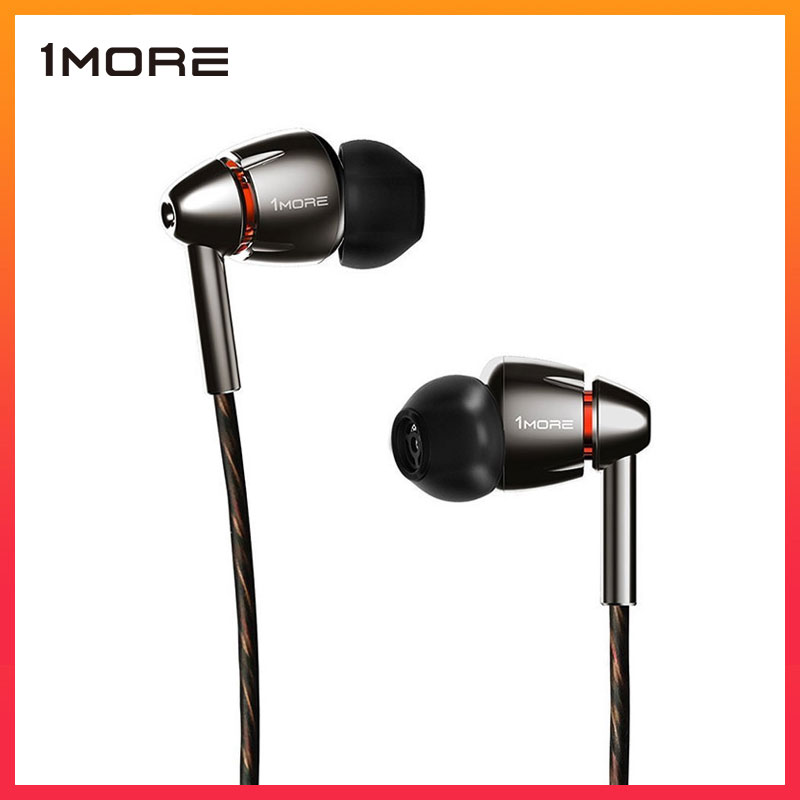 Best Product  1MORE Quad Driver E1010 In-Ear Earphone Earbuds with Apple iOS and Android Compatible Microphone an