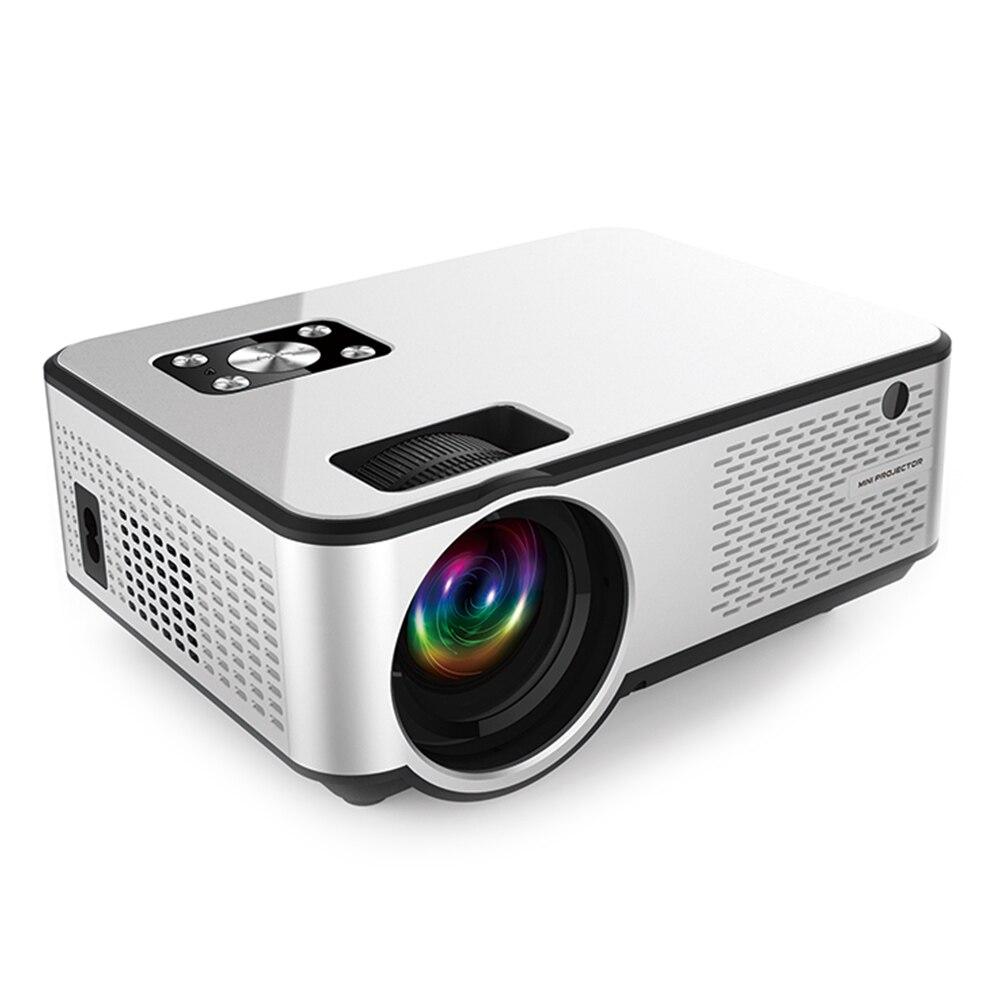 C9 Neueste WIFI Android Projektor 1280*720P Unterstützung 4K Videos Über HDMI Home Cinema Film Video Projektor