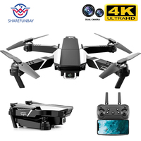 SHAREFUNBAY Drone 4k HD Dual Kamera Visuelle Positionierung 1080P WiFi Fpv Drone Höhe Erhaltung Rc Quadcopter S62 Pro drohnen Spielzeug