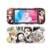 10pcs Demon Slayer NintendoSwitch Skin Sticker Screen Cover For Nintendo Switch Lite Protector Nintend Switch Lite Skin Sticker