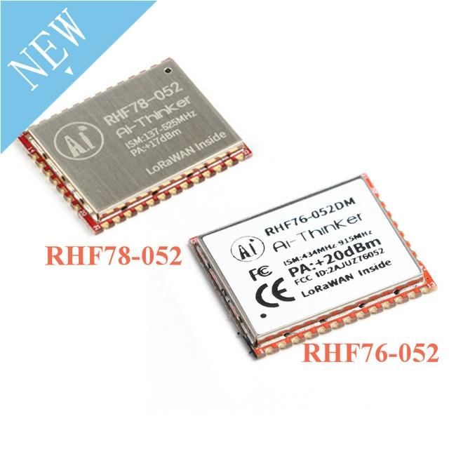 SX1276 SX1278 לורה מודול RHF76 052 RHF78 052 LoRaWAN צומת מודול STM32 433mhz 470mhz 868mhz 915mhz נמוך כוח ארוך מרחק