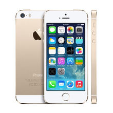 Original Factory For Apple iPhone 5s iPhone5s 16GB 32GB 64GB ROM 8MP Camera iOS Phone 4.0″ IPS 8MP WIFI GPS 4G LTE Mobile Phone
