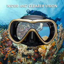 Glasses Snorkel-Set Diving-Equipment Easy-Breath Swimming Anti-Fog with Dry Leakproof